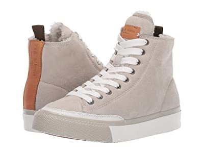 rag & bone RB High Top Sneaker (Antique White) Women