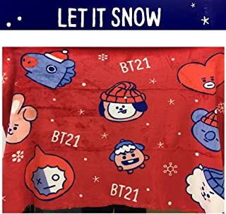 LINE FRIENDS BT21 Official Winter Blanket Winter Blanket
