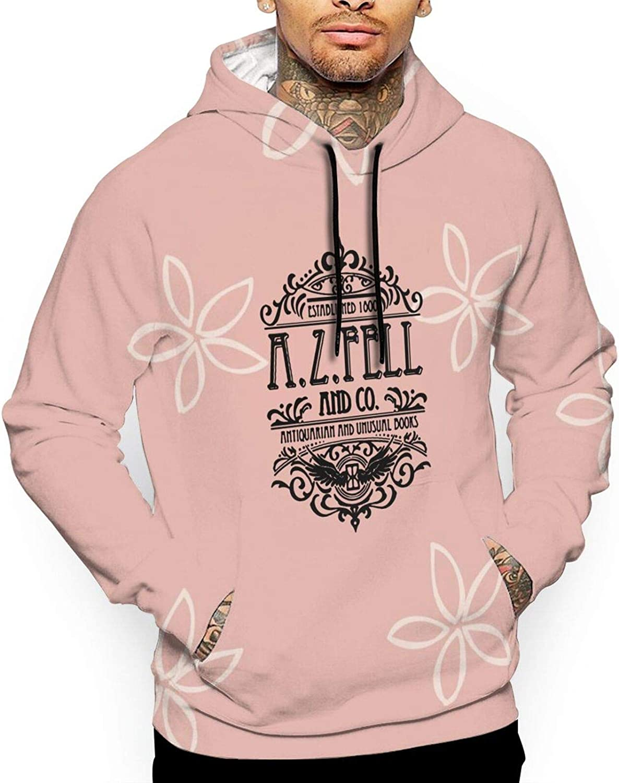 QKMKO Good Omens 4 years warranty A Men Full Printing High order Hoodies Hoodie Sweatshirt