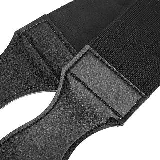 Strop Belt, Durable Shaving Belt, Double-Sided Straight Shaving Blade for Salon Use(Black)