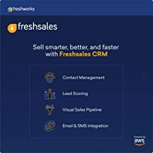 AWS SMB Digital Suite – Freshsales: CRM Software, Priced per Agent per Month (Change Quantity for Users, Email Delivery in...