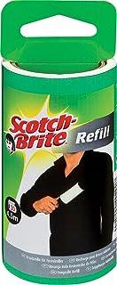 Scotch-Brite Brosse Adhésive 836rp -30Rouleau de rechange pour vêtements, noir/blanc, 30feuilles, pack de 4(4x 1pièce)