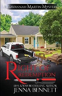 Right of Redemption: A Savannah Martin Novel