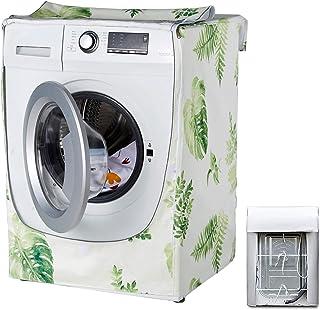 Housse étanche pour machine à laver et sèche-linge - Convient pour la plupart des machines à laver et sèche-linge (forêt)