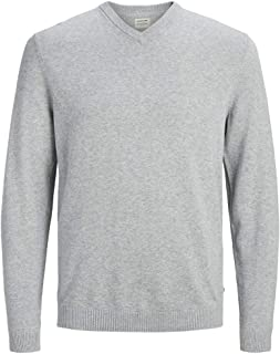 JACK & JONES Jjebasic Knit V-Neck Noos Felpa Uomo