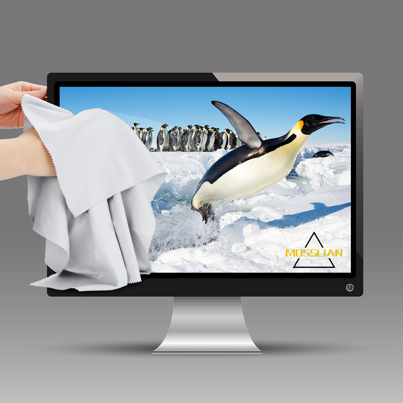 MOSSLIAN Paños Microfibra para TV,Parabrisas,Tabletas,Pantallas de LCD,16