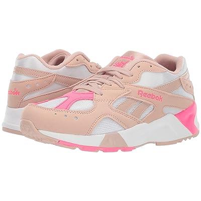 Reebok Aztrek (Bare Beige/White/Acid Pink) Athletic Shoes