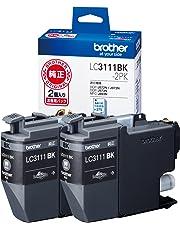 brother インクカートリッジ お徳用黒2個パック LC3111BK-2PK