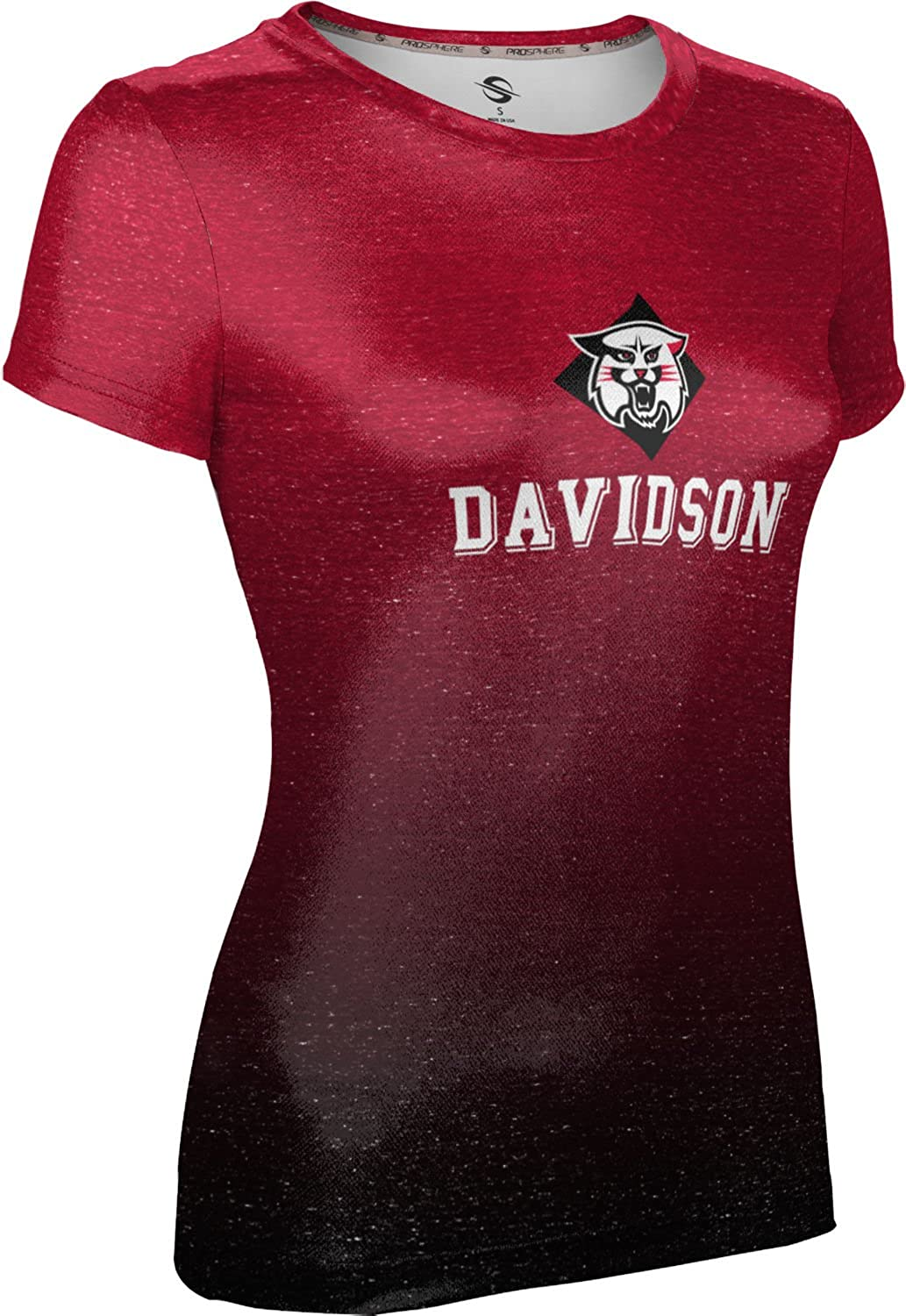 ProSphere Davidson College Girls' Performance T-Shirt (Ombre)