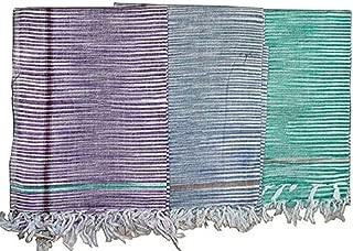 Gamcha Khadi Traditional Indian Bathing Towel