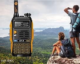 BaoFeng GT-3 Mark-II+Remote Speaker Pofung Transceiver, FM Radio, Dual Band, Chipsets Upgraded