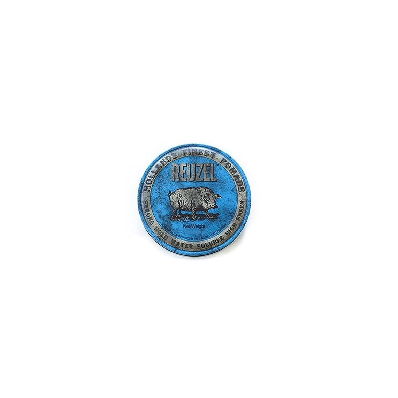 社説俳句端REUZEL ルーゾーストロングホールドポマード  1.3oz.-35g 【青】35g <水溶性: ストロングホールド>