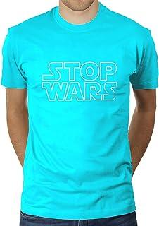 Stop Wars - Camiseta para hombre de KaterLikoli