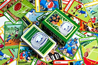 Blitz Champz | Football Card Game (Ages 7+) | Math Card Game | Fun Family Game | Party Game | Gifts for Football Fans | Ca...