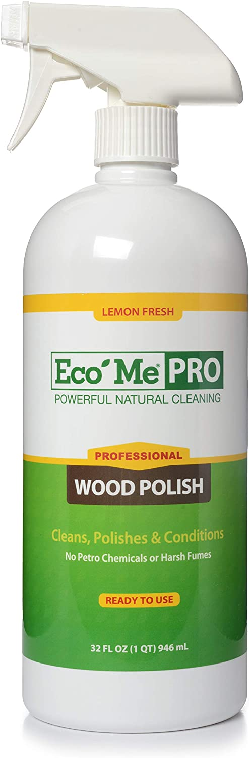 EcoMe Pro Wood Polish Rtu Lemon Direct stock discount Commercial Fres Genuine Free Shipping Industrial Use