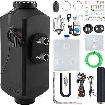 Happybuy 5KW Diesel Air Heater 12V Diesel Parking Heater 10L Tank Air Diesel Heater Silencer with Digital Switch for Boat Caravan and Motor-home: image