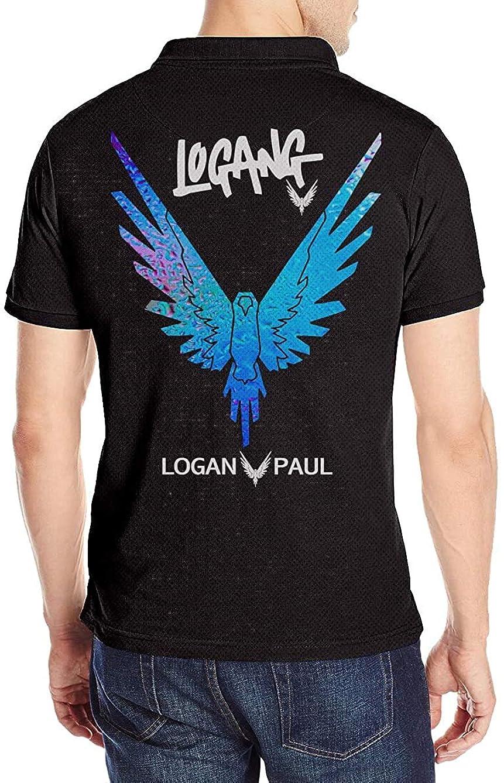 安心させるほとんどない仕方ローガン?ポール Logan Paul ポロシャツメンズ半袖 モーション 花柄 通気性 贈り物 Tシャツ