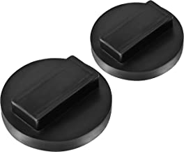 SuboTech 2 Pack Universal for BMW and Mini Square Polyurethane Jack Pad Adapter,BMW & Mini Jack Pad