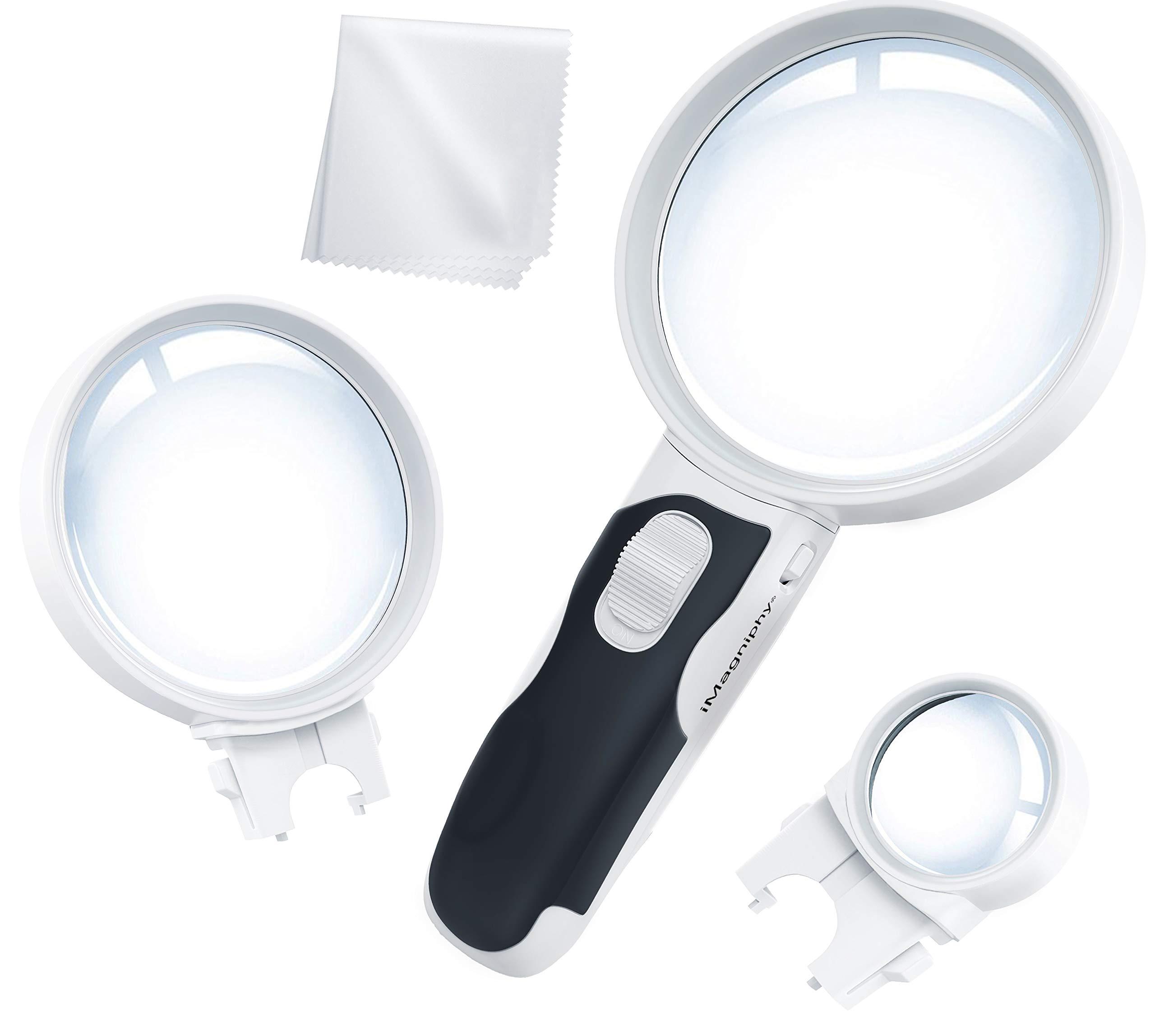 Illuminated Magnifying Magnifier Degeneration Computer