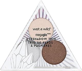 wet n wild Crystal Cavern Mega Glo Eyeshadow Trio, Clear Quartz