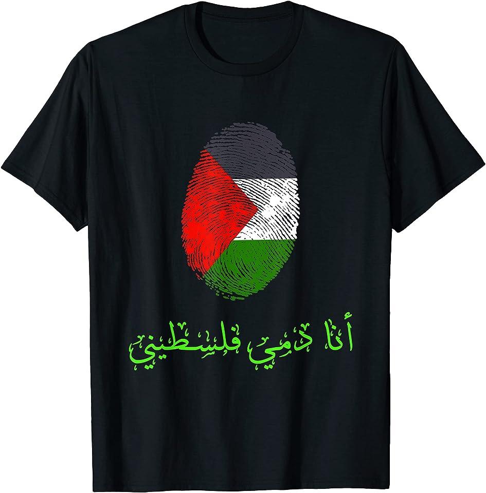 Palästina Flagge,Palästina,Flag of Palestine. T-Shirt