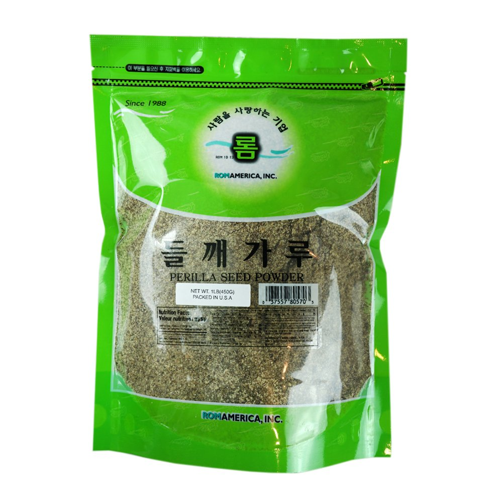 Max 89% OFF ROM AMERICA - Perilla Seeds Pound OFFicial shop 1 Powder 들깨가루