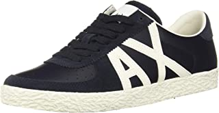 A|X Armani Exchange Men's Large Logo Low Top Sneaker