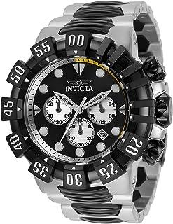 ساعة انفيكتا للرجال كوارتز مع حزام ستانلس ستيل، فضي اسود، 31.3 موديل 32375