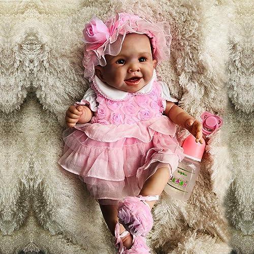 suministramos lo mejor TERABITHIA Bonita como una Princesa Hecha a Mano de de de 20 Pulgadas Rare Alive Silicona Lavable Renacer Baby Dolls  servicio considerado