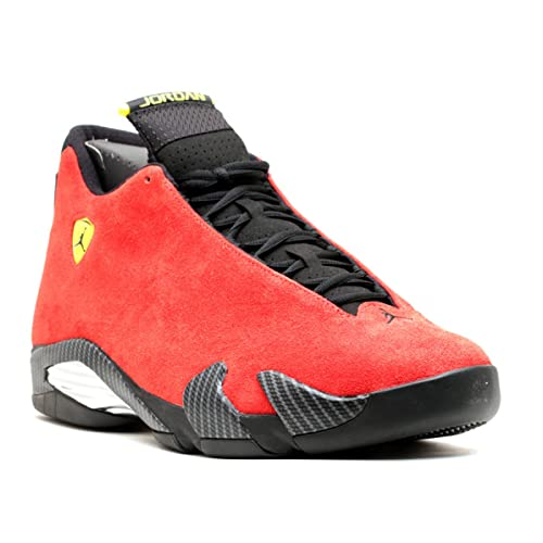 2ab76bad6b9c53 Jordan Air 14 Retro Ferrari Men s Shoes Challenge Red Vibrant  Yellow Anthracite Black