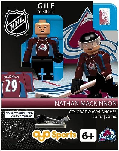 servicio considerado Colorado Avalanche NHL OYO Minifigure Nathan MacKinnon MacKinnon MacKinnon  tienda de ventas outlet