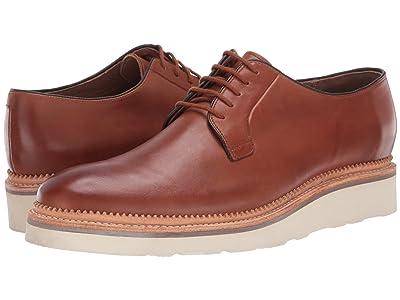 Bostonian Rhodes Wedge (Dark Tan Leather) Men