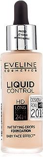 Eveline Cosmetics, LIQUID CONTROL HD lång stanna matt primer 005 IVORY, nude, 32 ml