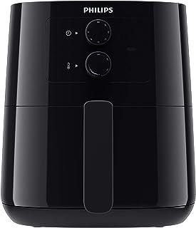 مقلاة كهربائية من فيليبس بوزن 0.8 كغم وبسعة 4.1 لتر، بشاشة انالوج لون اسود، HD9200/90