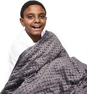 Creature Commforts 15lb Weighted Blanket   Removable Washable Cover   Handmade in USA