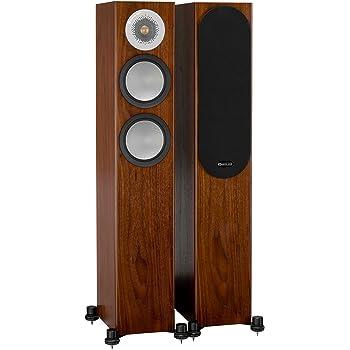 Monitor Audio Silver 200 Floorstanding Speaker Walnut Pair