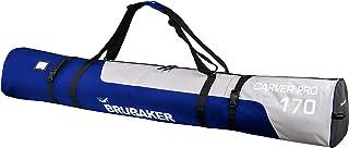 BRUBAKER CarverPRO for One Pair of Ski + Poles Cut-resistant Padded in Binding Area