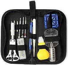 Houtbewerkingsgereedschap 13pcs horloge Repair Tool Kit Set zaak Opener Hammer Link Pin Remover Tool Pincet