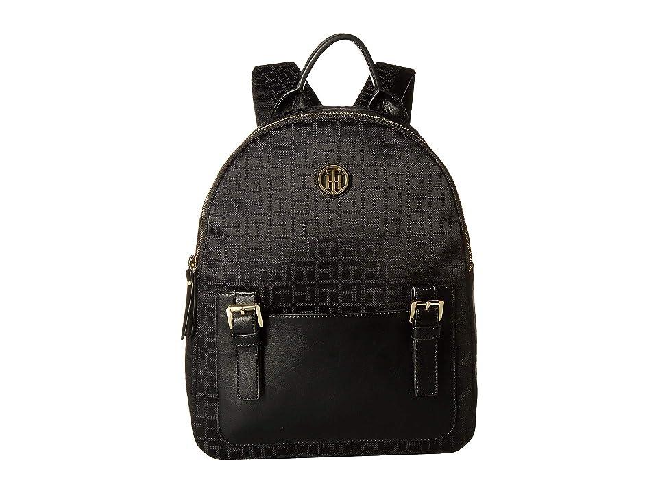 Tommy Hilfiger Imogen Backpack (Black/Tonal) Backpack Bags