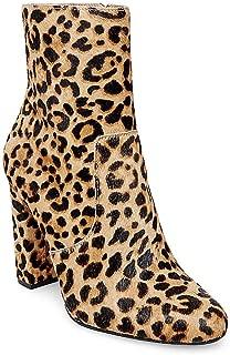 Women's Editor-L Ankle Boot, Leopard, 5 M