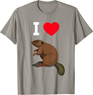I Love Beaver Funny Adult Crude Humor TShirt For Men & Women