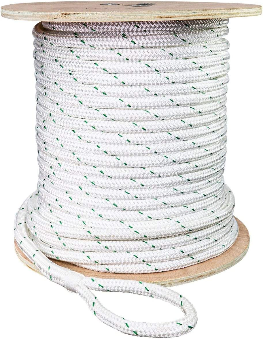 SGT KNOTS Double Braid Polyester Max 61% OFF Mail order cheap Pulling with for Loop Eye Rope
