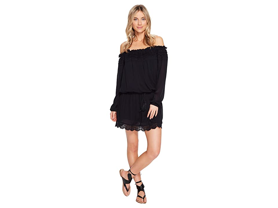 Roxy Off the Shoulder Dress (Anthracite) Women