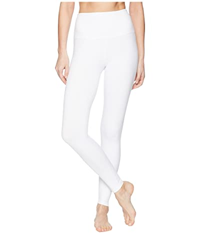 Beyond Yoga High Waist Midi Leggings (White) Women