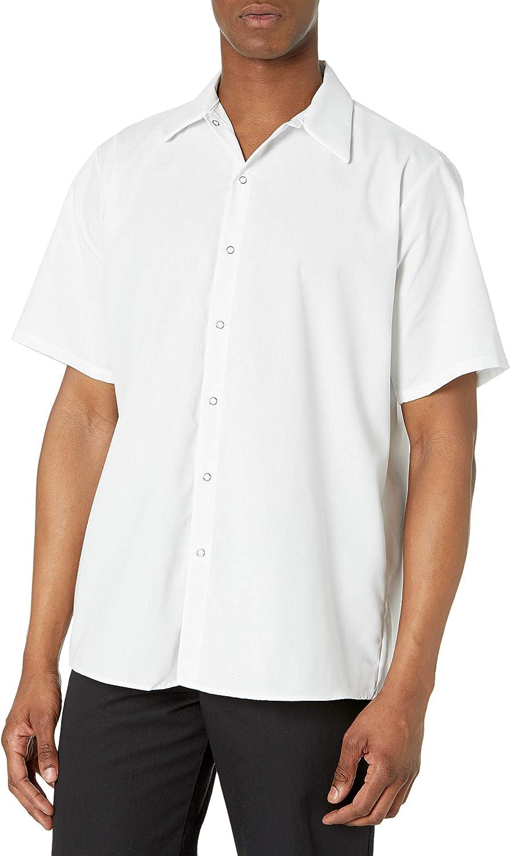 Red Kap Men's Specialized Pocketless Polyester Work Shirt
