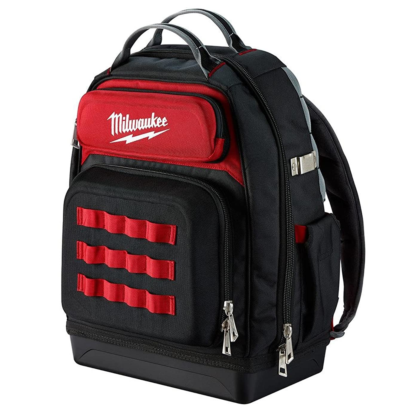 Milwaukee Ultimate Jobsite Backpack,Constructed of 1680D Ballistic Materials,with 48 Total Pockets, 5X More Durable and 2X More Padding, unsurpassed Comfort and Jobsite Performance! ole3859456