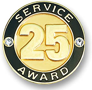 25 year pin