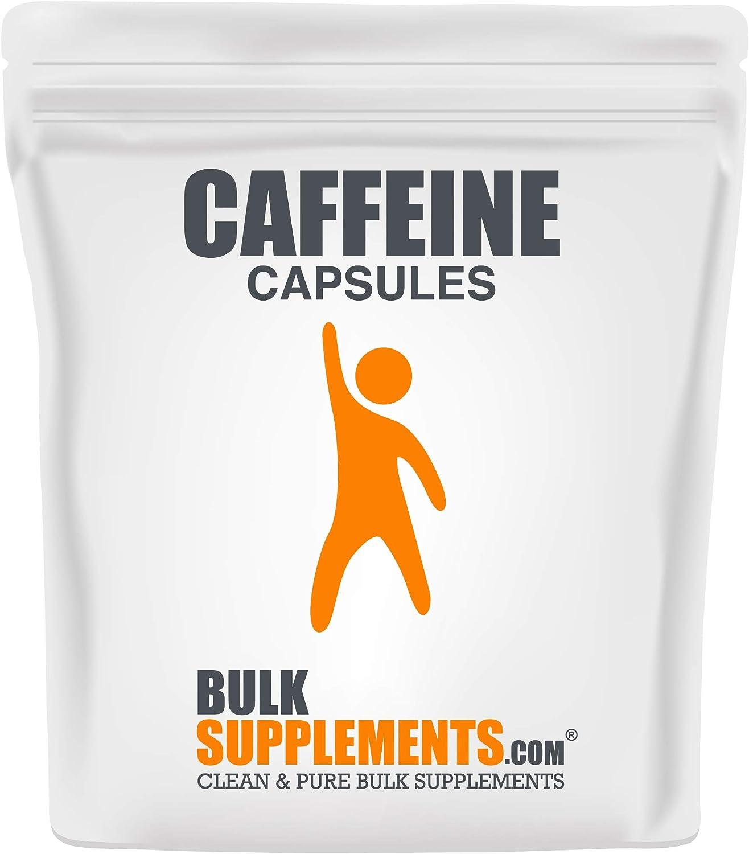 2021 new BulkSupplements.com Caffeine New mail order Capsules Caffein - Pills