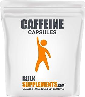Bulksupplements Caffeine Capsules (200 mg) (300 Vegetarian Capsules)