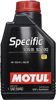 Motul Specific 505 01 502 00 505 00 - 5W40 - 1 Liter